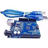 xcluma Uno R3 Compatible Board Atmega328P | Ch340G | USB Cable