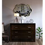Woodstage Solid Sheesham Wood Multipurpose Chest of Drawers for Home Office Living Room Wooden Storage Floor Standing Cabinet