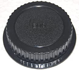 Generic Rear Lens Cap Cover for Canon EF EF-S (Black)