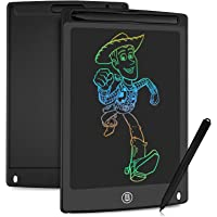 HOMESTEC Tavoletta Grafica LCD con Display Colorato 8,5 Pollici, Tavoletta Scrittura da Disegno Cancellabile con Scheda…