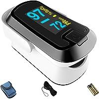 CHOICEMMED Fingertip Pulse Oximeter - MD300CN340 Oxygen Monitor Fingertip - Blood Oxygen Saturation Monitor with OLED…