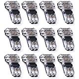 Conectores de cable - YIXISI paquete de 12 conectores de cable, Wire Connectors,Tipo T de 2 clavijas, Quick Splice Wire Wirin