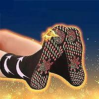 Heated Socks for Men Women, Self Heating Socks Middle Cut Ankle Socks, Comfortable Breathable Massage Anti-Freezing…