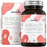 Anticaduta Capelli Donna B-BEAUTY COMPLEX | Integratori Capelli Donna | Biotina Capelli | Prodotti Per Capelli | Integratore