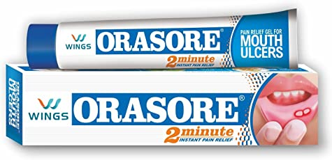 Wings Orasore Mouth Ulcer Relief Gel - 10 Gm