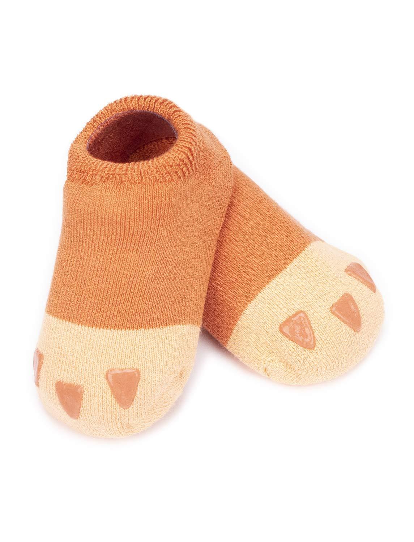 Adorel Calcetines Zapato Antideslizantes para Bebé Lote de 6 4
