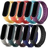 MAKACTUA Compatible con Xiaomi Mi Band 5 Cinturini Braccialetto di Ricambio Polso Cinturino di Ricambio per Smartwatch Xiaomi