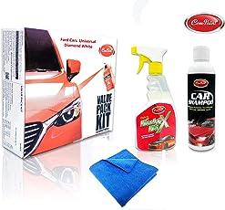 Com-Paint Scratch Remover Super Combo Car Care Value Pack kit for Maruti Alto K10 - Granite Grey