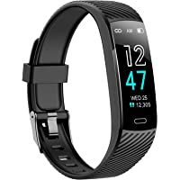 Fitness Tracker - Activity Tracker Watch with Heart Rate and Sleep Monitor, Waterproof Watch with Alarm Clock, Calorie…