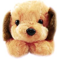 Tickles Dog Stuffed Soft Plush Toy 28 Cm - Brown