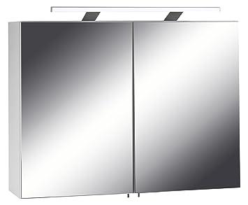 Cavadore Spiegelschrank Sleek 04 / Eleganter Badezimmerschrank mit ...
