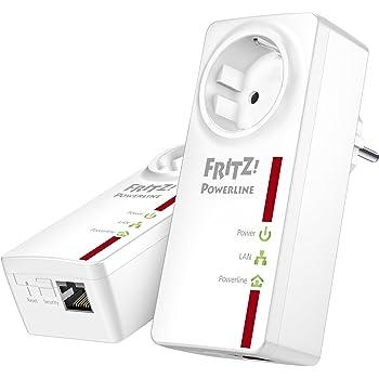 AVM FRITZ! Powerline 520E Set (500 Mbit/s, Gigabit LAN, Steckdose)