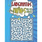 Laberintos Para Niños 10-12 Años: 100 Laberintos 3 niveles con Soluciones - libro de actividades 10-12 Anos - juegos de logic