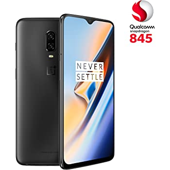 OnePlus 6T Midnight Black (Nero Opaco) 8 + 128 GB, Snapdragon 845