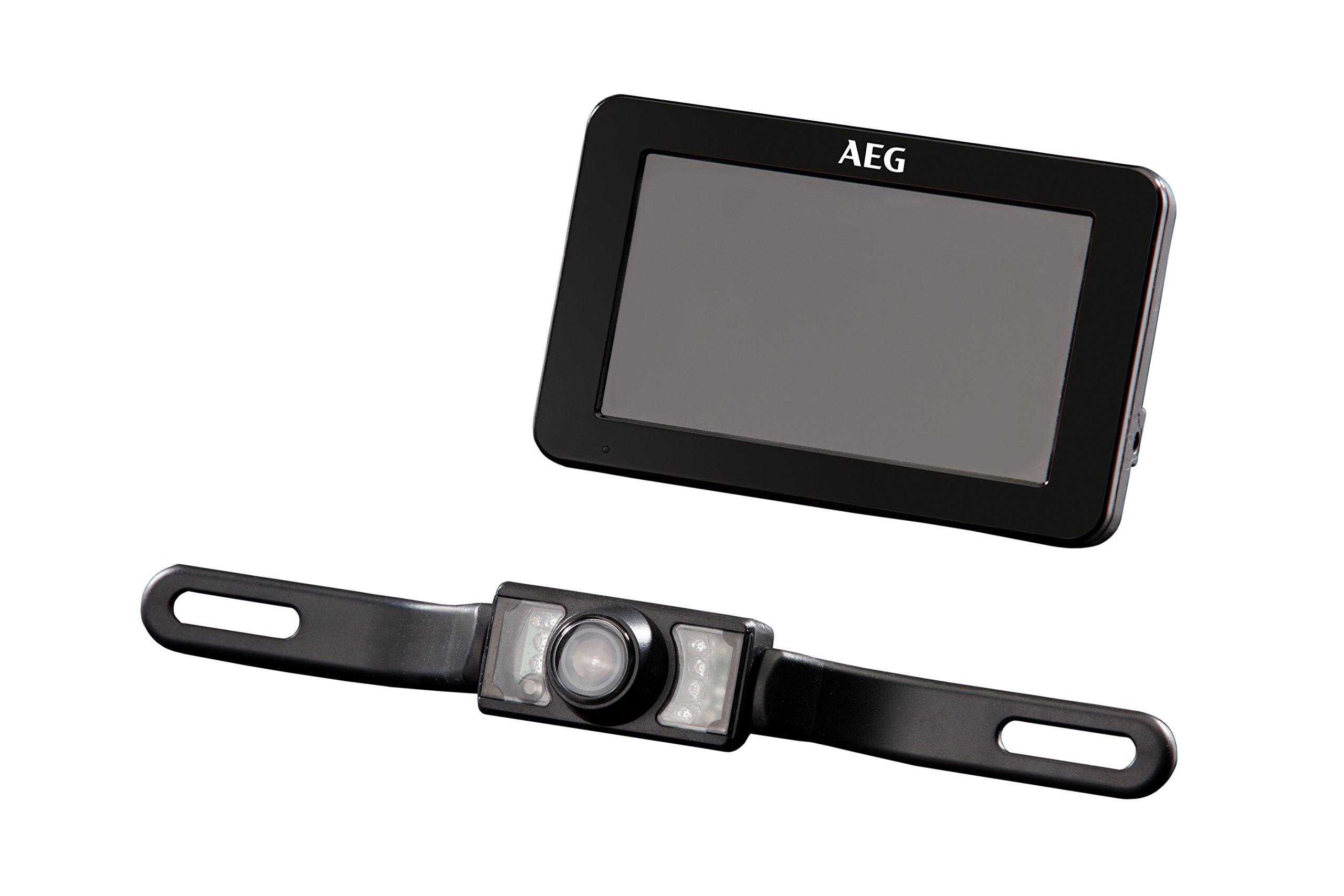 AEG-97153-Funk-Rckfahrkamera-System-RV-43-mit-LCD-Farbdisplay-inklusiv-Nachtsichtfunktion-und-Verschlsselung