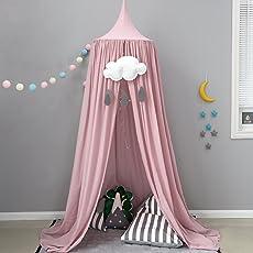 Baby Betthimmel Bett Baldachin Baumwolle Dekoration Baldachin Für  Kinderzimmer Babybett Insekt Moskitonetz Schutz Indoor Outdoor