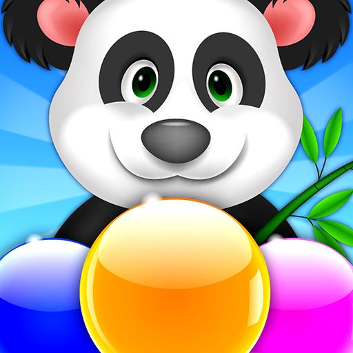 Panda Bubble Ball Pop Shooter: Pandas Snoopy (Kung-fu-arcade-spiel)