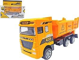 Popsugar Pull Back Engineering Super Truck, Yellow