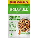 Tata Soulfull Millet Muesli - Crunchy, Contains Almonds & Raisins- 700g