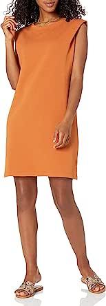 The Drop Women's Mariana Power Shoulder Mini Dress