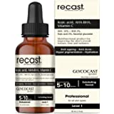 Recast Kojic acid 5%, AHA 34% , BHA 2%, Vitamin C Peeling Solution - Glycocast gel peel formula - Anti ageing | Acne | Pigmen