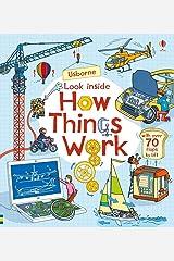 Look Inside How Things Work: 1 Board book