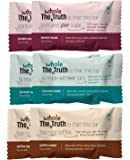The Whole Truth- Protein Bars- Choco Variety - Pack of 6 (6 X 52G)