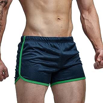 AIMPACT Mens Swim Trunks Swimming Shorts for Men Swimwear Square Shorts Fashion Causal(Blue,XXL)
