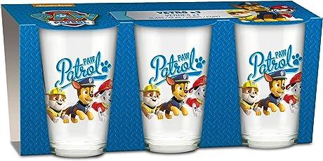 empireposter Glas-Set - Paw Patrol - Group - 237 ml - 3 Gläser - Trinkglas Kinder Geschirr