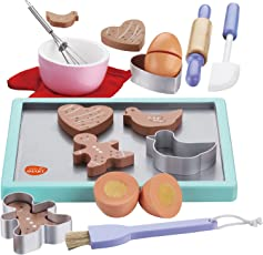 Bee SmartBackset aus Holz, Spielzeug, Kekse, Backblech, für Kinder