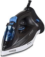 Singer Sapphire Comfort 1250 Watts Steam Iron with Detachable Base (Black)