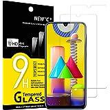 NEW'C 2 Pezzi, Vetro Temperato Compatibile con Samsung Galaxy M21, Galaxy M31, Pellicola Prottetiva Anti Graffio, Anti-Impron
