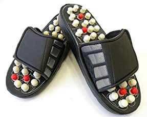 Acupressure Massage Slippers Leg Foot Massager
