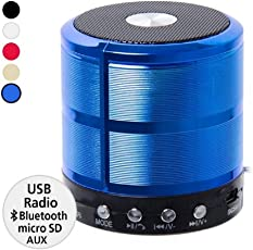 Royallite WS-887 Multifunction Mini Bluetooth Wireless Speaker with Mic (Assorted)
