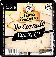 García Baquero Queso Reserva 12 - Ya Cortado 200gr