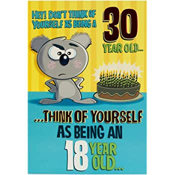 Hallmark 30th Birthday Card 18 With 12 Years Experience