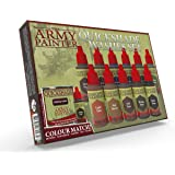 The Army Painter | Quickshade Washes Set | 11 Acrylic Quickshade Paints for Wargames, Tabletop and Roleplaying Miniature Mode