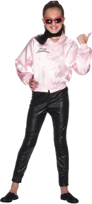 Smiffy&39s Children&39s Grease Pink Ladies Jacket Size: S Colour