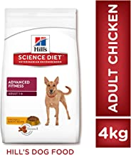 Hill's Science Diet Adult Advanced Fitness, Chicken and Barley Recipe Dry Dog Food, 4 kg