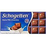Schogetten Alpine Milk Chocolate, 100g - Pack of 1