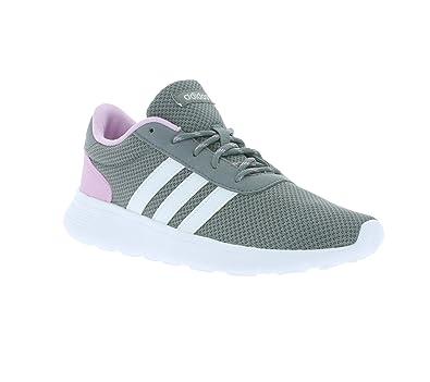 adidas Lite Racer W, Sneaker Basses Femme, Gris (Gris/Ftwbla/Plamat