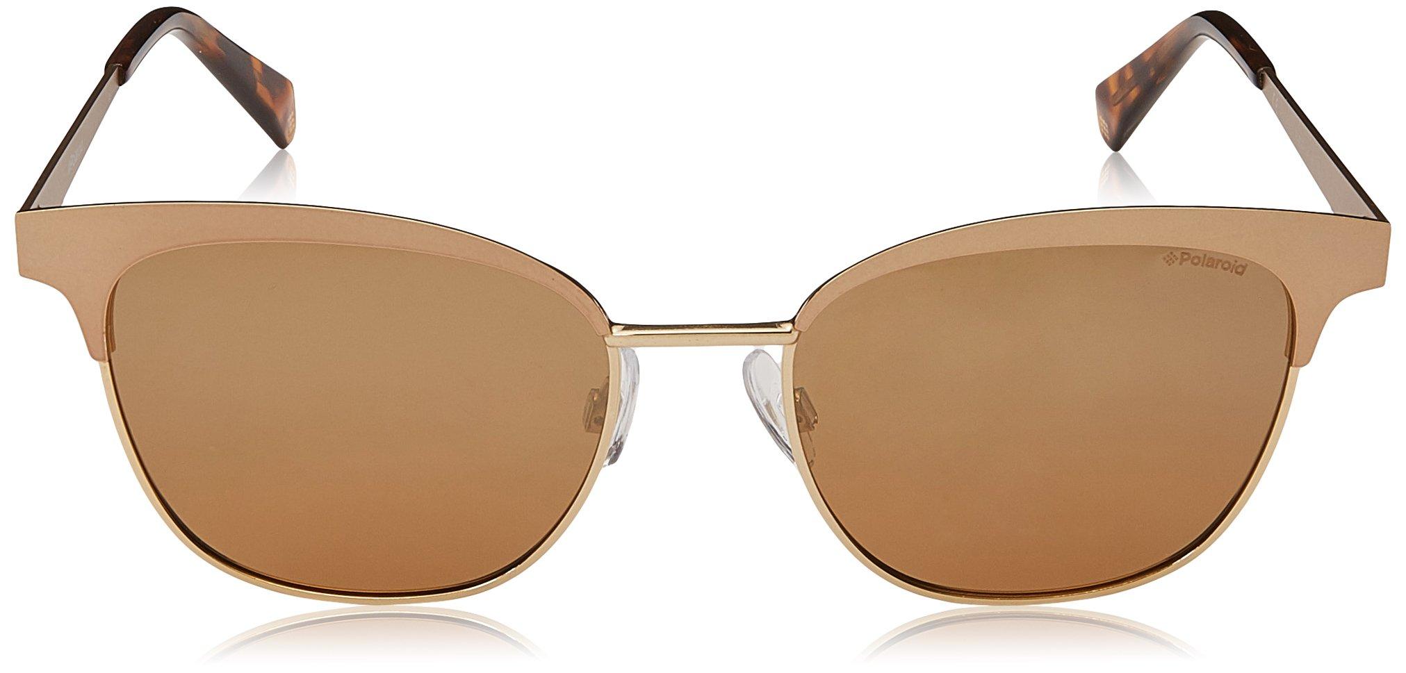 Polaroid PLD 4055/S QD AOZ 54 Gafas de sol, Dorado (Semtt Gold/Grey Grey), Mujer