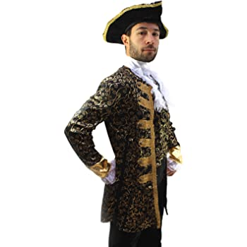 DRESS ME UP Costume da Pirata Nobiluomo a7dc784dd25