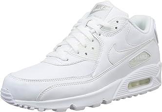 Nike Air Max 90 Leather Scarpe da ginnastica, Uomo