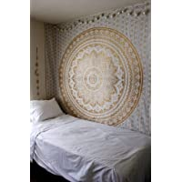 Textile export creations Cotton 300 TC Bedspread (Single_Multicolour)