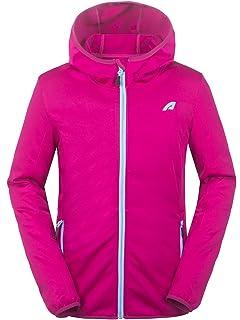 Eono Essentials Damen Softshell Jacke (Pink Melange, S