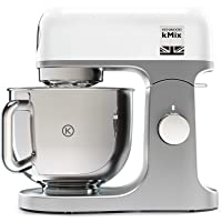 Kenwood KMX750WH Impastatrice Planetaria Kitchen Machine kMix  Robot da Cucina Mixer  1000 W  5 Litri  Acciaio  Plastica  Bianco