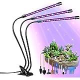 Lámpara de Plantas, GolWof 60 LED Luz de la Planta Iluminación 27W con 15 Herramientas de Jardinería, 3 Modos de Lluminación,