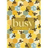 A5 Academic Diary 2021-2022 Week To View   Busy Bumble Bee Hive: Mid Year Diary / Academic Planner August 2021 - July…