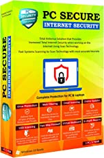 PC Secure, Internet Security for Your Computer and Laptop 1 User 1 Year